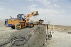 Implementation of rural road of Berk in length of 15k