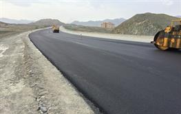 Construction of transport road of Chabahar-Nikshahr to Iranshahr