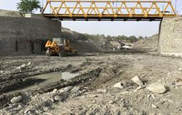 Construction of establish and completing the entry bridge of Nikshahr City
